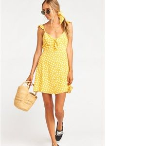 SMYM X SALTY BLOND-hula mini dress